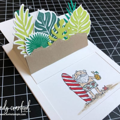 12 Weeks of Christmas Week 7 – Santa Slider Card