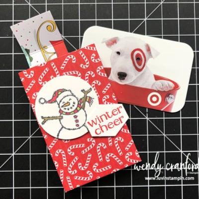 12 Weeks of Christmas Week 9 Gift Card Box