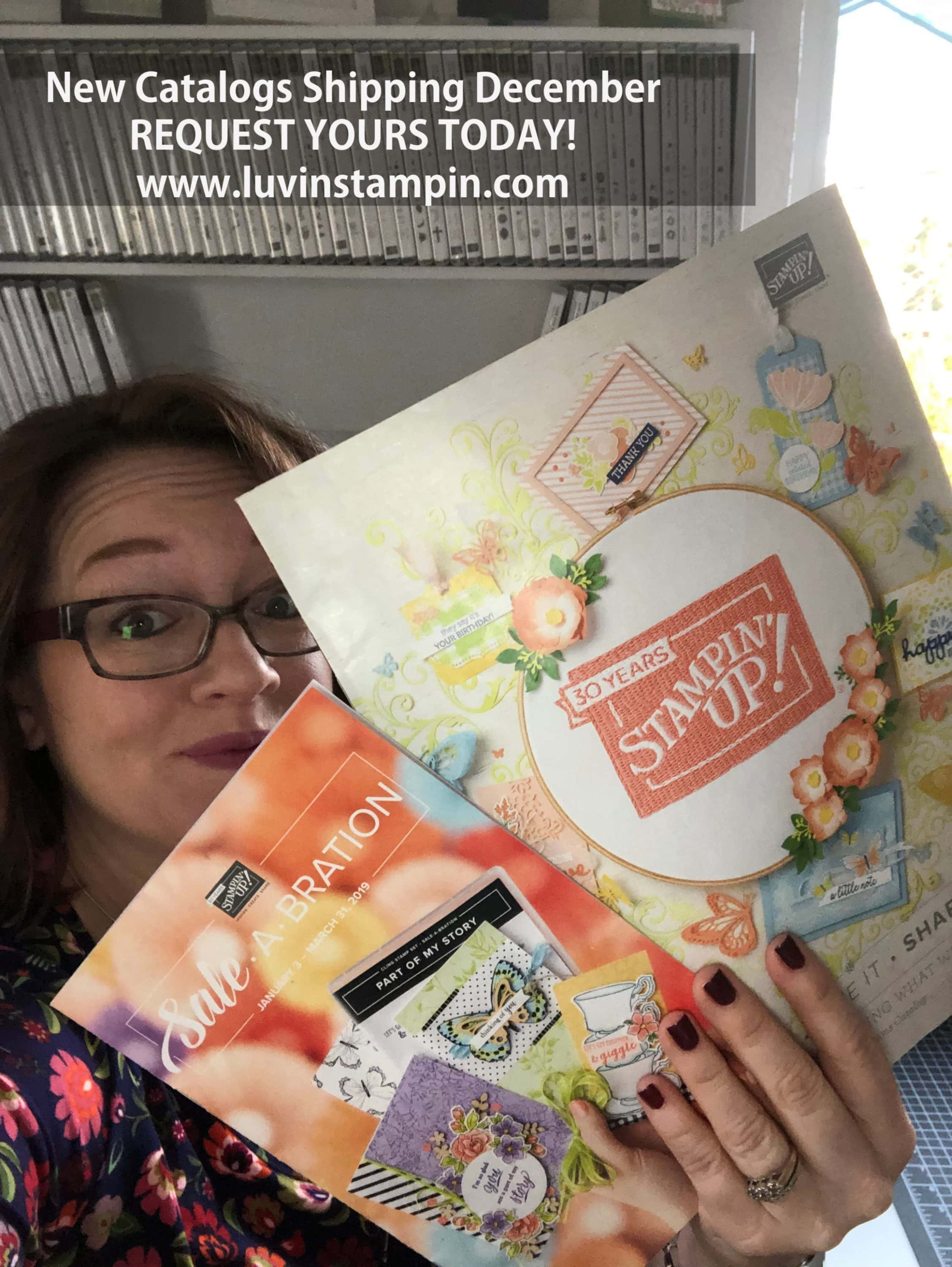 2019 Stampin' UP! Occasions Catalog request one today Wendy Cranford luvinstampin.com