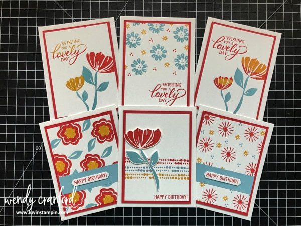 Brand new Bloom by Bloom stamp set from Stampin' UP! 2019 Occasions Catalog Wendy Cranford luvinstampin.com #bloombybloom #stampinup #thankyoucards #handmade #cardmaking #simplestamping