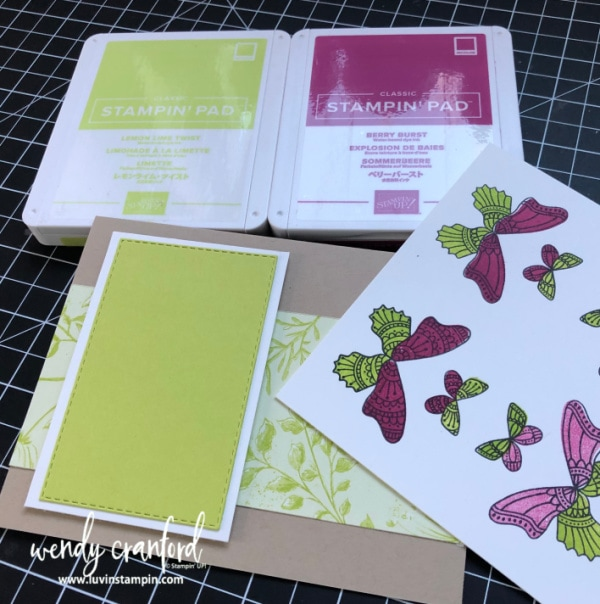 Butterflies Stampin' UP! #luvinstampin