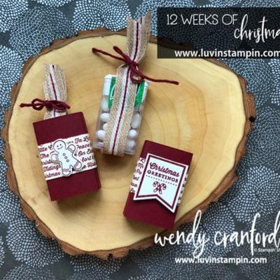 12 Weeks of Christmas Week 10, Handmade Stocking Stuffer