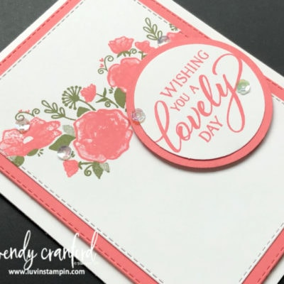 Product Spotlight: Forever Lovely Bundle from Stampin' UP!
