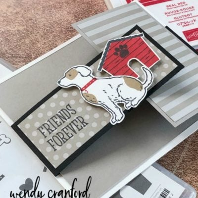Happy Tails Fun Fold Card