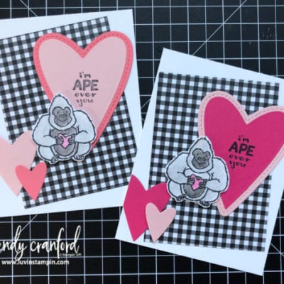 Hey Love, Simple Card Making