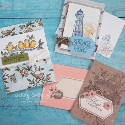Sneak Peek of 2019-2020 New Stampin' UP! Products