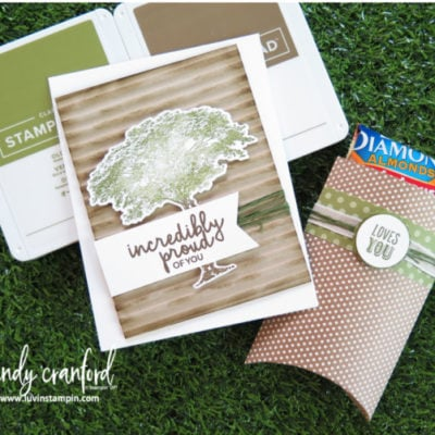 A Manly Card For a Manly Man | Stampin' UP! Rooted In Nature
