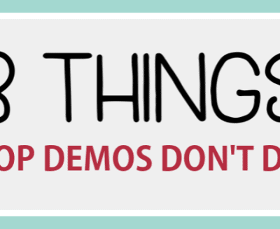 3 Things That Top Demonstrators Don't Do