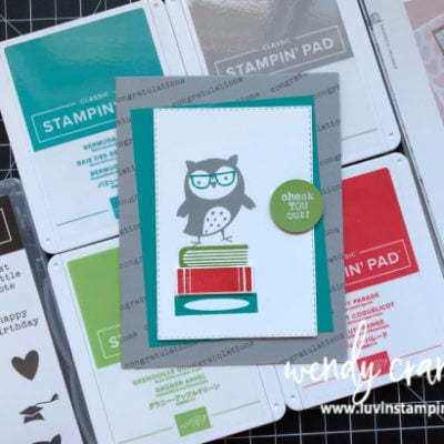 Stampin' UP! Check You Out Catalog CASE
