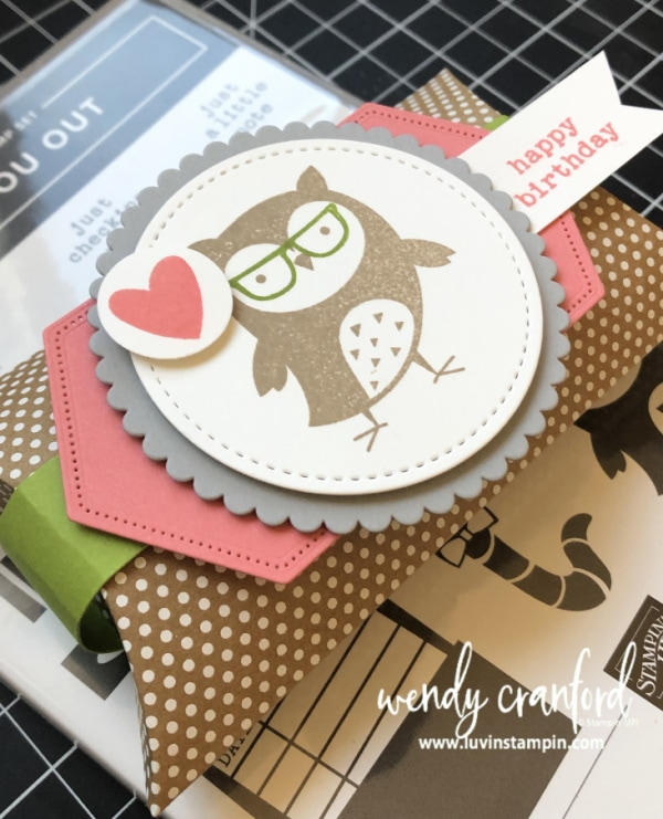 Stampin' UP! Check You Out stamp set