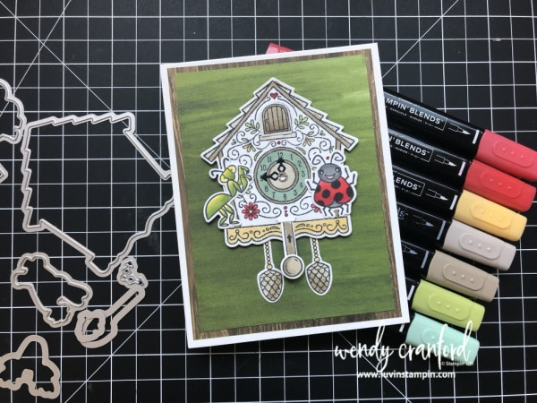 Stampin' UP! Cuckoo For You Bundle Wendy Cranford www.luvinstampin.com
