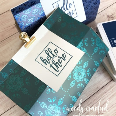 Large Milk Carton Box feat. Noble Peacock Specialty Paper