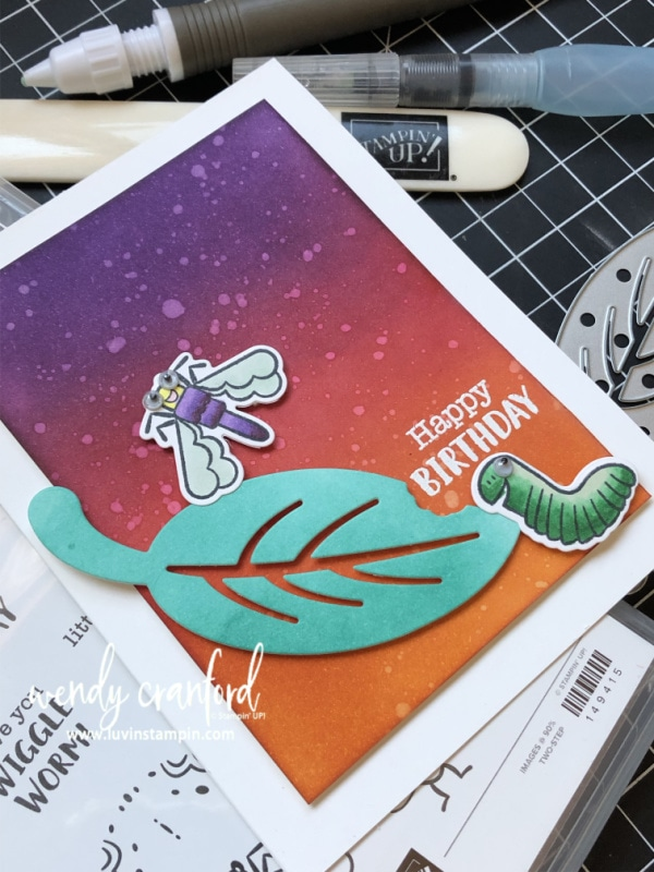 Stampin' UP! Wiggle Worm Bundle Wendy Cranford www.shopluvinstampin.com