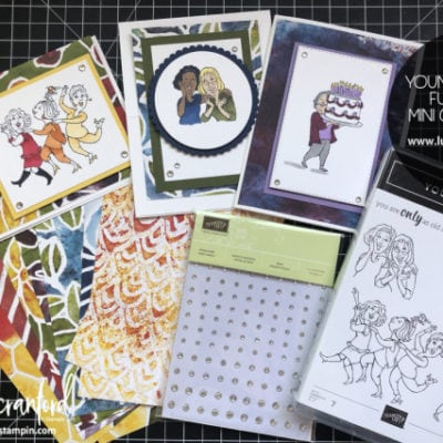 Young At Heart Fun Fold Mini Card Class (FREE w/ order)