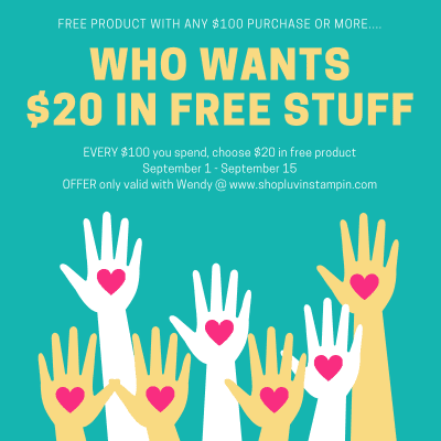 Get $20 FREE Product When You Spend $100