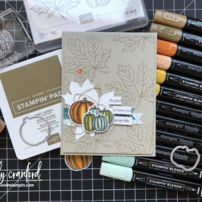 Artsy Fartsy Card feat. Stampin' UP! Gather Together