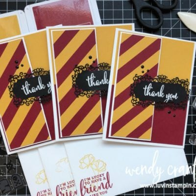 Harry Potter Party & Thank You Cards