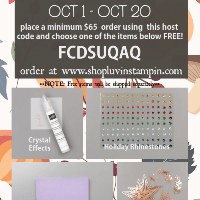 October Special, National Coffee Day & Luvin' Stampin' Monthly