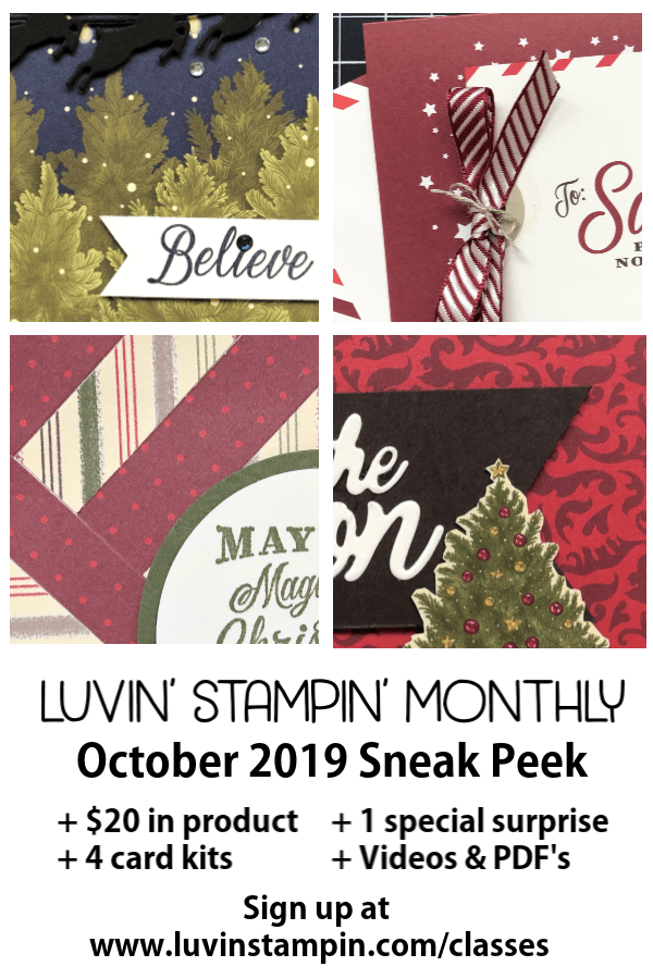 luvinstampin monthly from Wendy Cranford #luvinstampin #stampinup