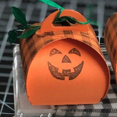 Curvy Pumpkin Treat