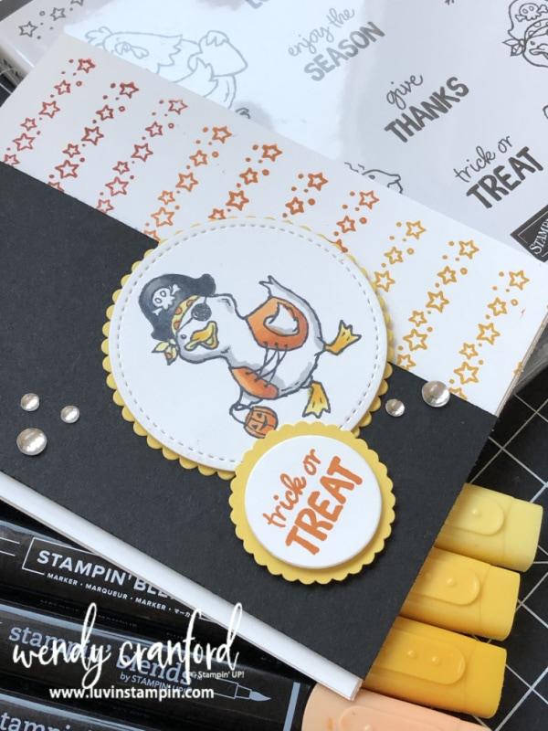 Luvin' Stampin' Trick or Treat #luvinstampin #cardmaking