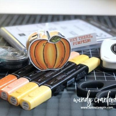 Tiny Pumpkin Treat Container