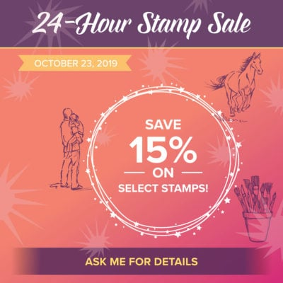24 Hour Stamp Set Sale & Free Shipping
