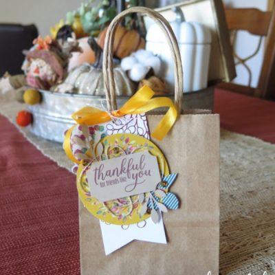 Thankful Treats with Paper Pumpkin