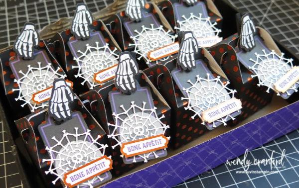 Halloween treats with September Paper Pumpkin #luvinstampin #stampinup #crafts #halloween #papercrafts