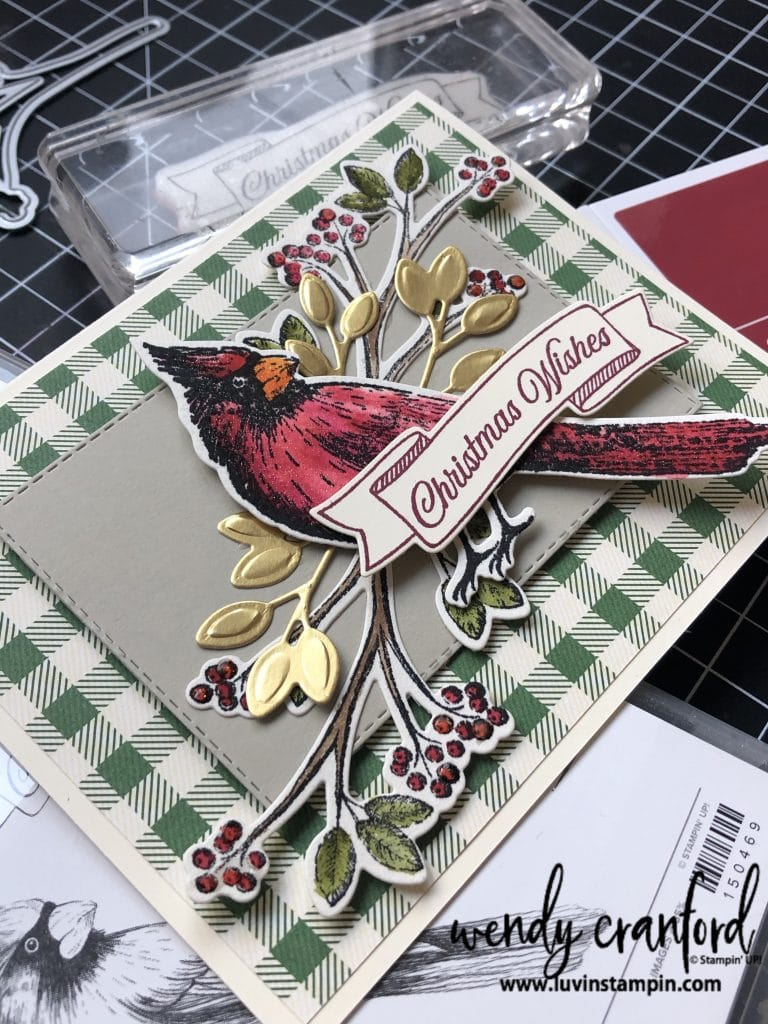 Christmas Bundle from Stampin' UP!  #luvinstampin #christmas