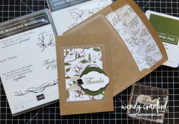 September Thank You cards and gifts for customer orders. #thankyou #gratitude #stampinup #luvinstampin