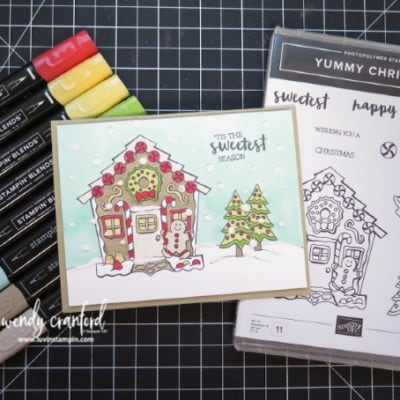 Stampin' UP! Yummy Christmas Simple Coloring