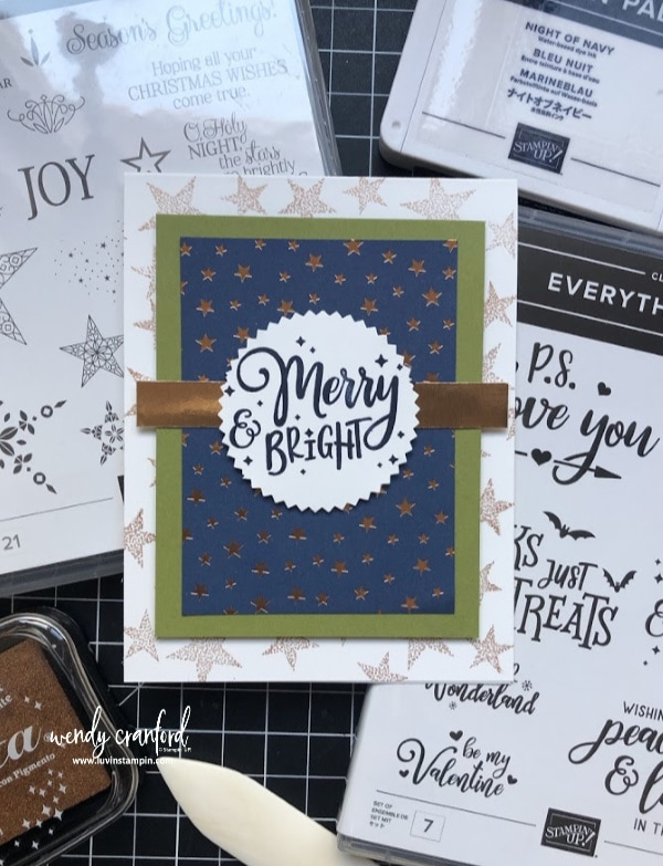 Handmade Thank You Cards #luvinstampin #stampinup