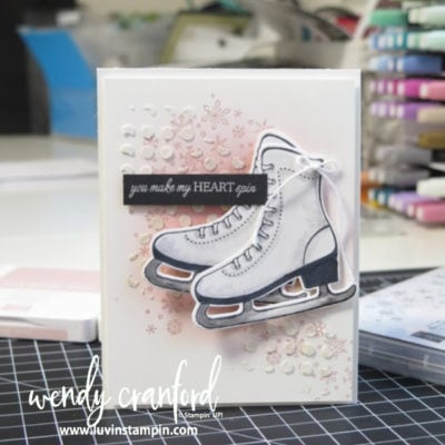 How To Color White Objects with Stampin' Blends