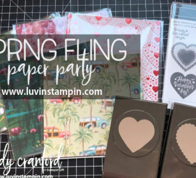 LAST CHANCE   Spring Fling Paper Party