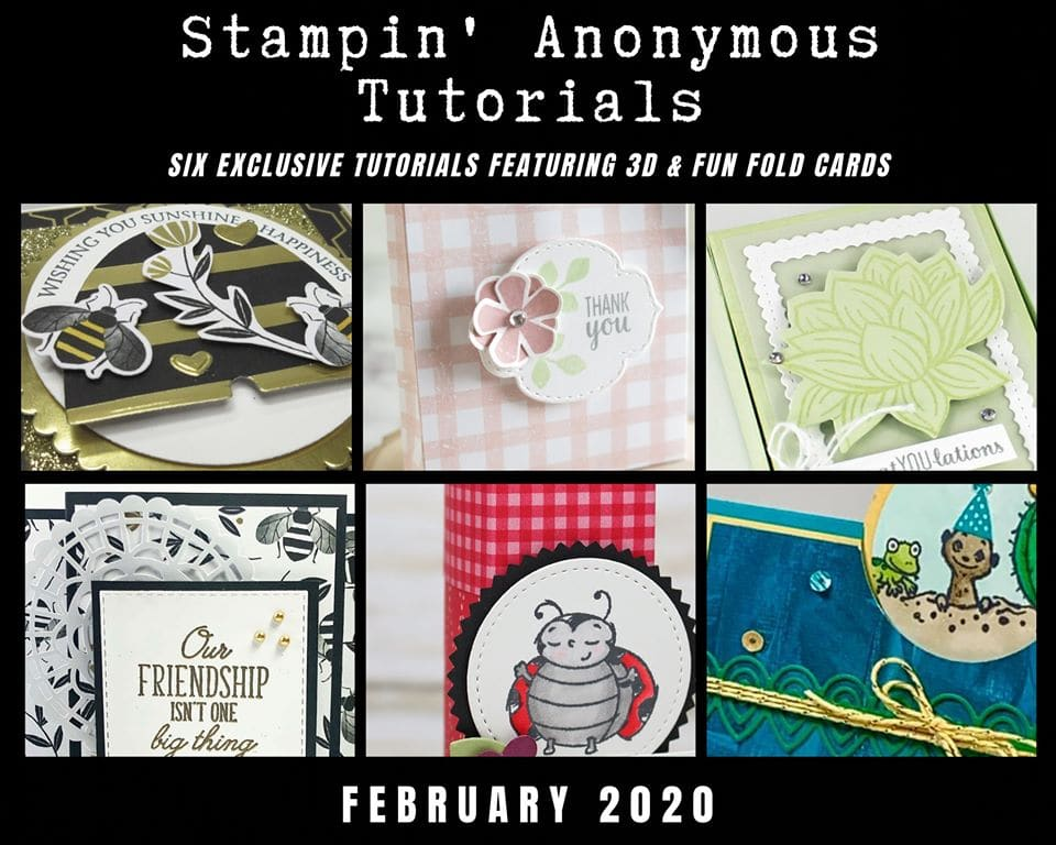 Stampin' Anonymous Tutorial bundles
