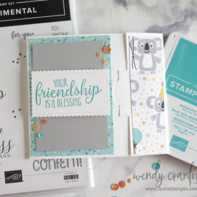3 Unique Gift Card Holders with Partial Diecutting Techniques
