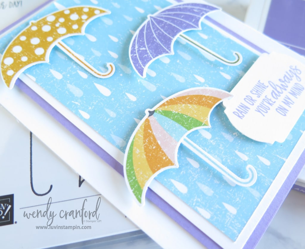 Pleased As Punch designer series paper creates adorable background and punched elements.