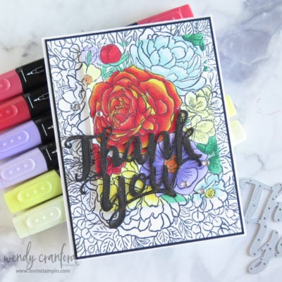 How To Spotlight Stamp