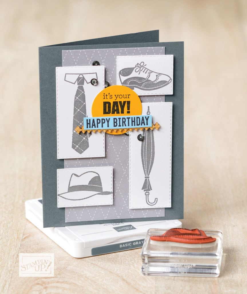 Perfect Father's day stamp set from Stampin' UP!