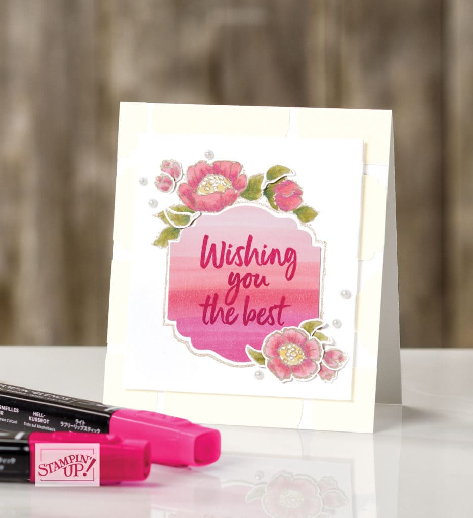 New Sale A Bration release samples from Stampin' UP!