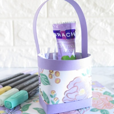 Flowering Foil Mini Easter Gift Bag