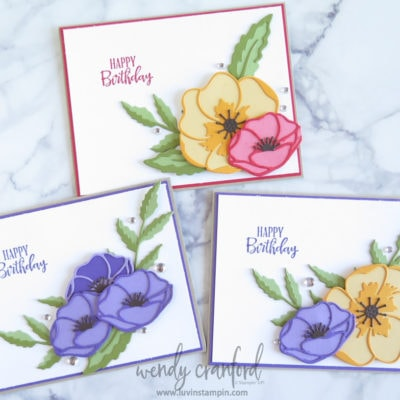 Die Cut Color Stacking Ideas