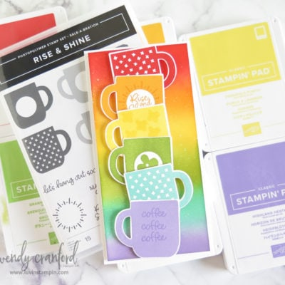 How To Make An Extra Tall Card feat Stampin' UP! Rise & Shine