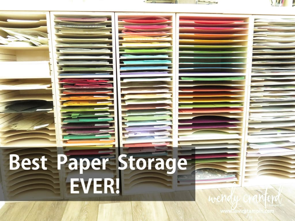 Paper storage towers