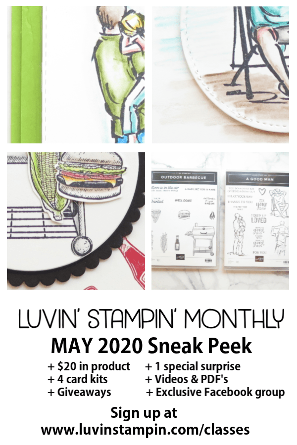 Luvin' Stampin' Monthly May 2020 Sneak Peek