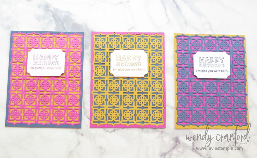 Many Mates Bundle using the 2020-2022 Stampin' UP! IN Colors