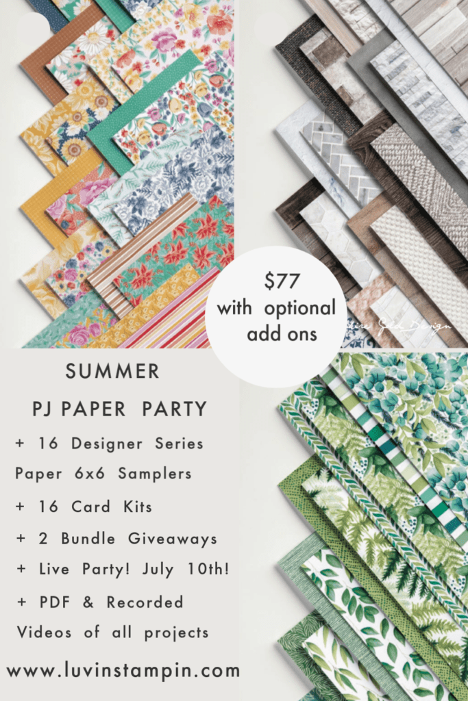 Summer PJ Paper Party Almost Closed