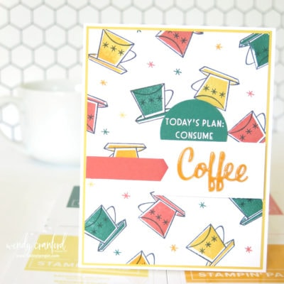 Create Your Own Stamped Background