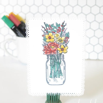 Simple Coloring Tips with Stampin' Blends
